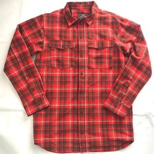 Nike Dimension Flannel Shirt Jacket Size XS Red